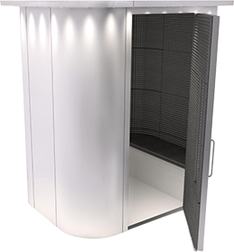 Enclosed Video Booths