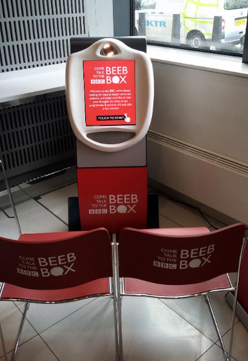 BBC Reduced Height Video Kiosk