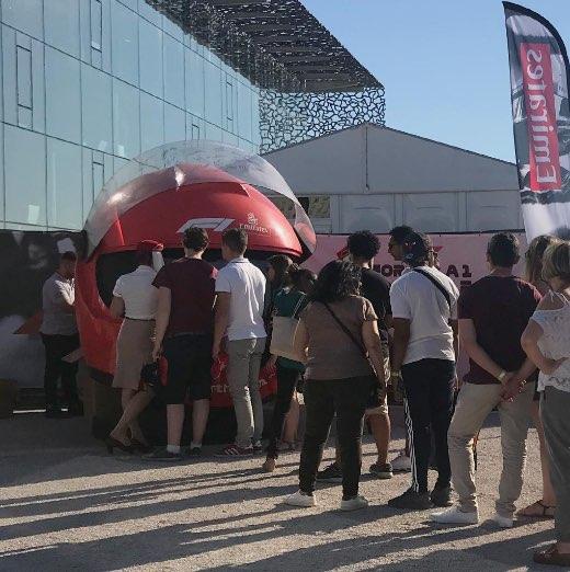 Emirates F1 Event