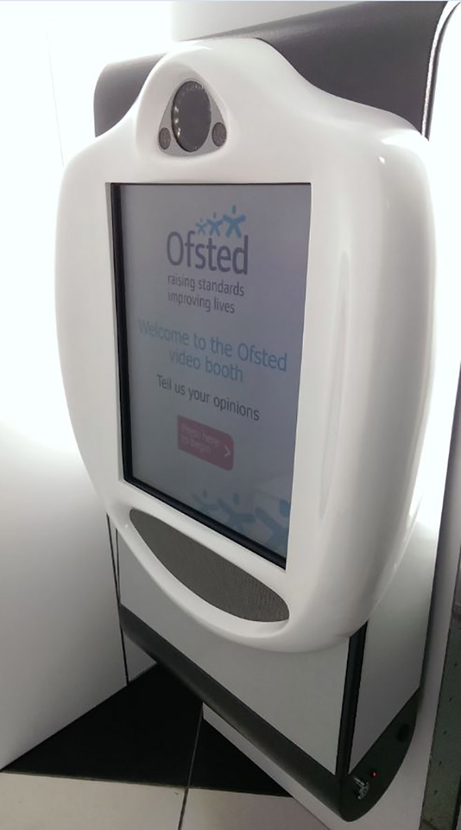 Ofsted Wall Mount VideoKiosk