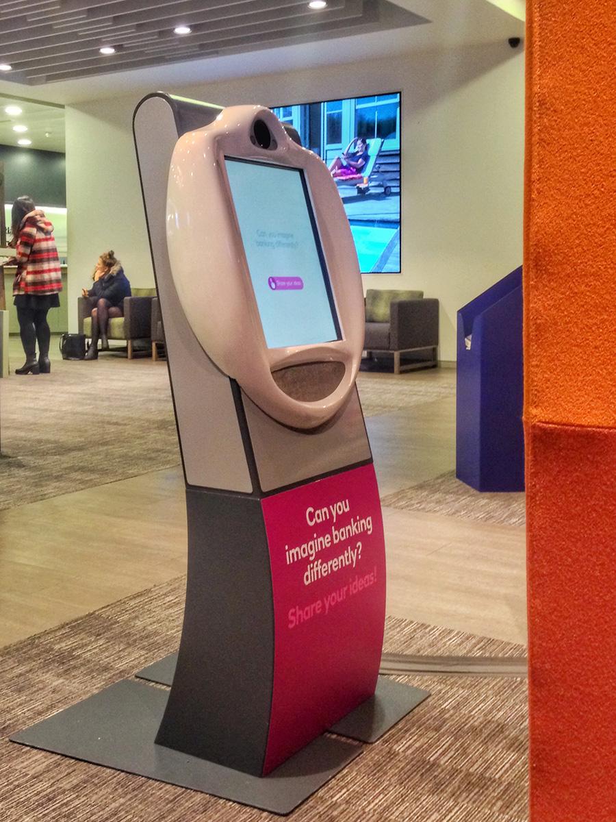 RBS Reduced Height Video Kiosk