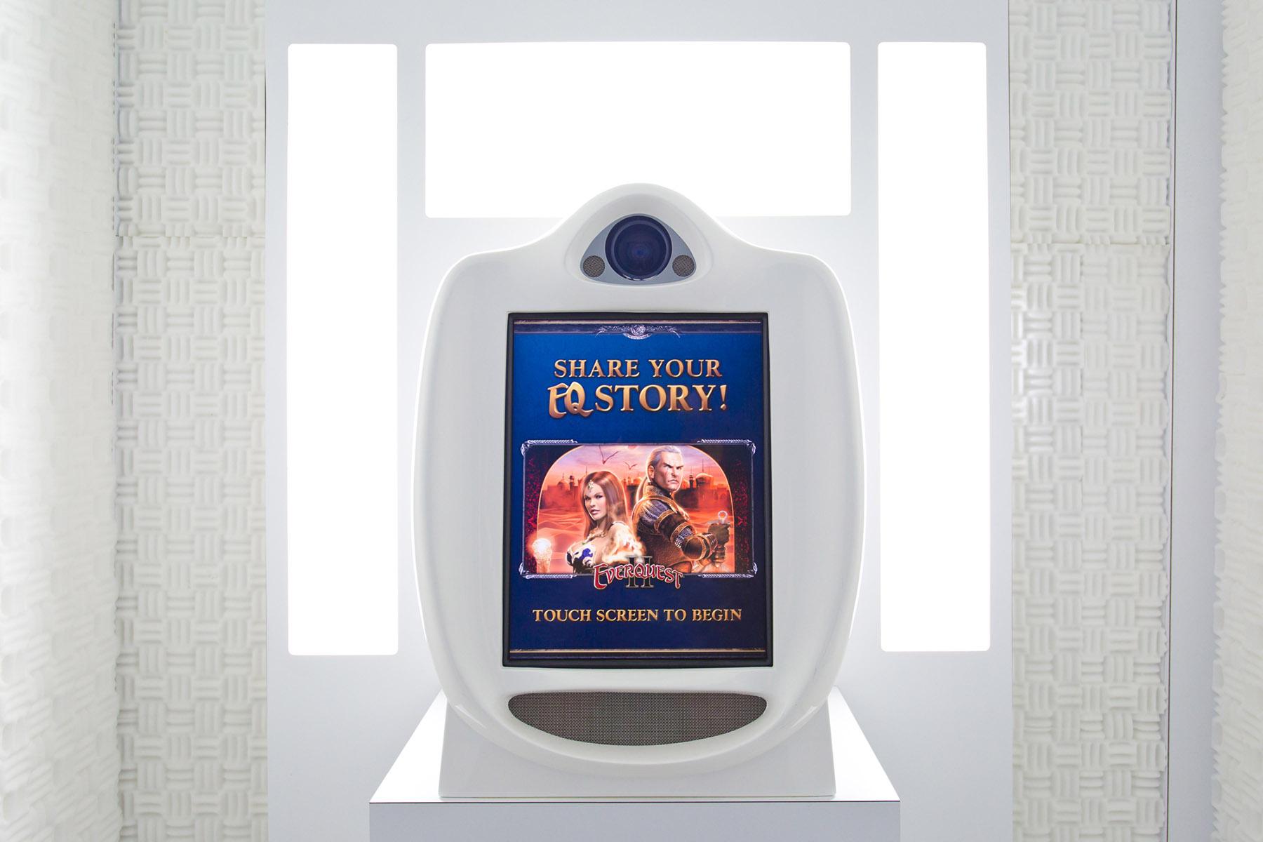 Sony Desktop VideoKiosk